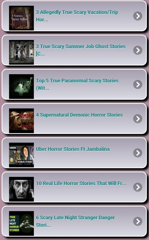 Horror Stories for Android - APK Download