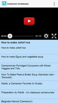 Cameroon Cookbooks screenshot 1