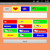 Cute Dialer Skin for Kids icon