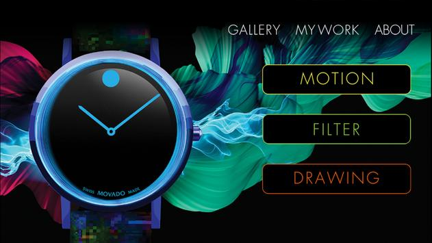 Movado Be Inspired poster