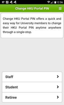 Change HKU Portal PIN poster