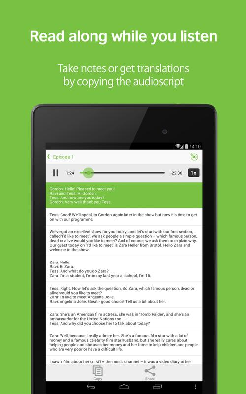 LearnEnglish Podcasts - Free English listening 3.3.1 APK ...