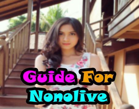 Premium NONOLIVE LIVE GUIDE poster