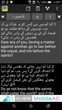 Urdu English Bible screenshot 3