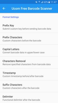 Ucom Free Barcode Scanner screenshot 5