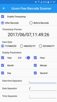 Ucom Free Barcode Scanner screenshot 6