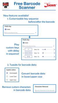Ucom Free Barcode Scanner screenshot 1