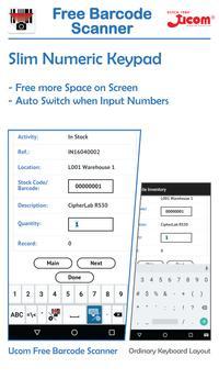 Ucom Free Barcode Scanner screenshot 2