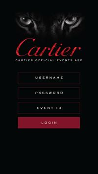 Cartier Events poster