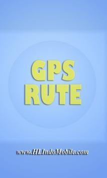 GPS RUTE MONITORING poster