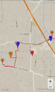 GPS RUTE MONITORING screenshot 1