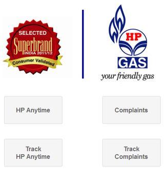 HP Gas Booking apk screenshot