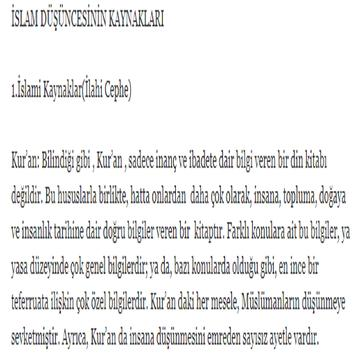 ilahiyat islam dusunce tarihi screenshot 1