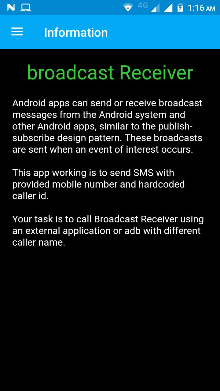 Broadcast Receiver for Android - APK Download