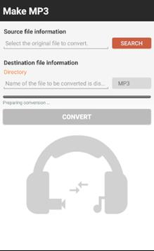 Convert to MP3 poster