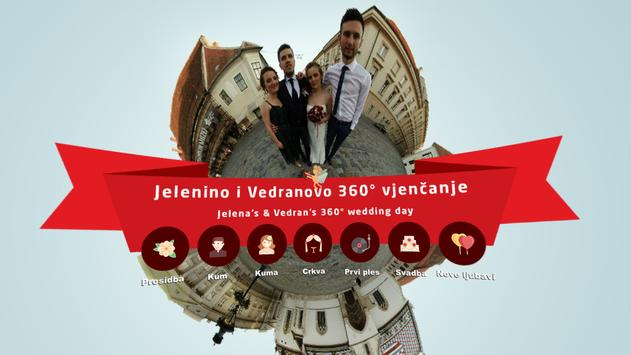Jelena & Vedran 360° HD wedding apk screenshot