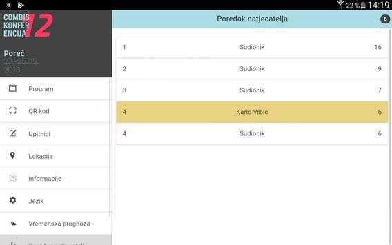 Combis Conference screenshot 7