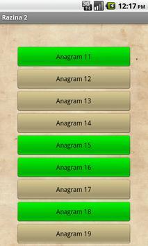 Anagram Kviz apk screenshot