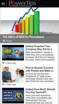 PowerTips for Remodelers poster