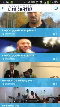 Apostolic Life Center Church apk screenshot