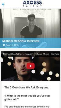 Axcess Talent screenshot 2