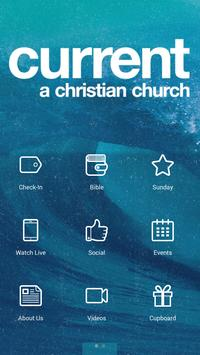 Current - A Christian Church poster