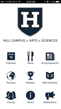 Hill Campus of Arts & Sciences poster