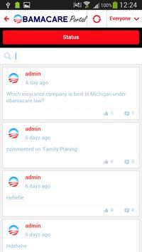 Obamacare Portal apk screenshot