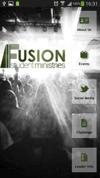 Fusion Student Ministries poster
