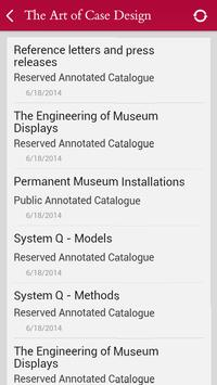 Goppion Catalogues Updater apk screenshot