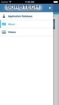 Sorbtech Application Database apk screenshot