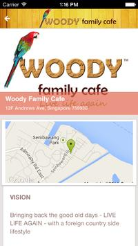 Woody Family Cafe screenshot 1