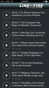The Line of Fire Radio Show apk screenshot