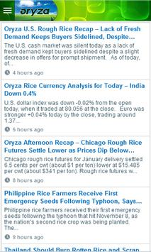 Global Rice Prices&Latest News poster