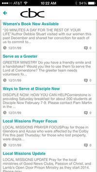 Cornerstone Bible Church apk screenshot