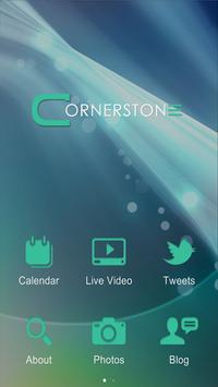 Cornerstone Community Church poster