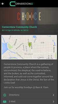Cornerstone Community Church apk screenshot
