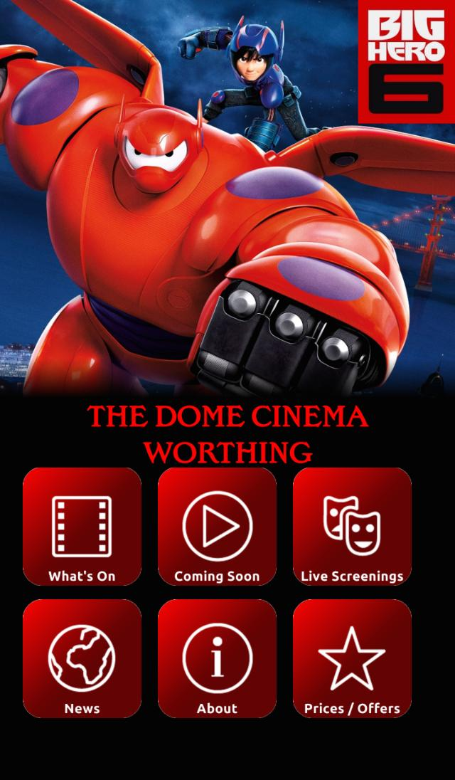 The Dome Cinema, Worthing App for Android - APK Download