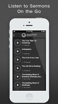 Generations United Church apk screenshot