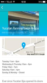 Yucatan Tanning Salon & Spa apk screenshot