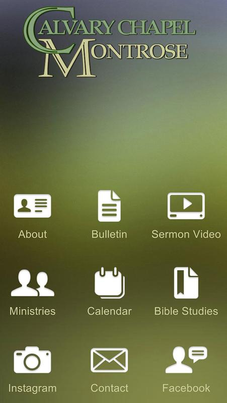 Calvary Chapel Montrose For Android