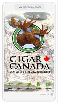 Cigar Canada poster