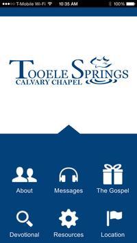 Tooele Springs Calvary Chapel poster