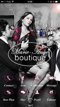 Boutique Marie-Ange poster