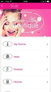 Boutique Marie-Ange screenshot 1