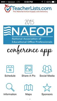 2015 NAEOP Conference poster