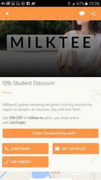 UniTreats: Student ID Anywhere apk screenshot