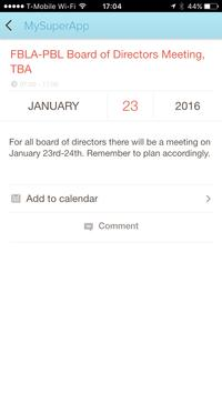 FBLA mobile app 2016 screenshot 6