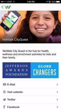 WeWalk City Quest apk screenshot