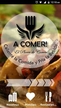 A Comer poster